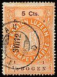 Switzerland Lucerne 1911 revenue 6 5c - 131 - E 2 11.jpg