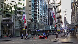 2014 Sydney hostage crisis - Road closures on King Street