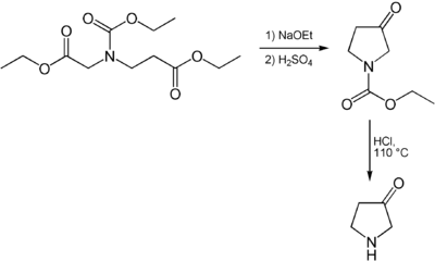 Synthese von 3-Pyrrolidon