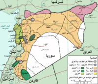 Map of ethno-religious composition in Syria