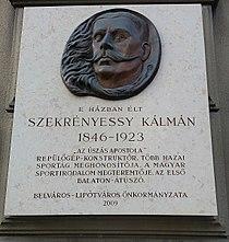 Szekrényessy Kálmán emléktáblája Ferenciek tere 7-8.jpg