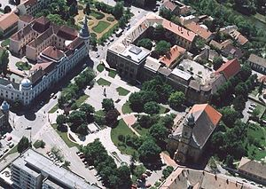 Szentes - Image: Szentes légifotó3