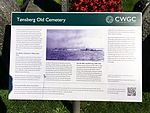 Tønsberg Old Cemetery Norway Commonwealth War Graves Commission poster English 2016-08.jpg
