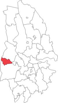 Degerfors købstad i Örebro amt