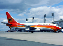 1986.png TAAG Angola Airlines Boeing 737-200Adv D2-TBD CDG julho