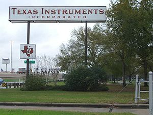 Stafford, Texas - Texas Instruments facility in Stafford: Texas Instruments was Stafford's largest employer.