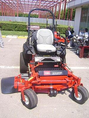 Zero-turn mower - A Toro Z Master Commercial Zero-Turn mower