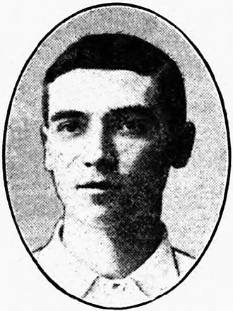 Tommy Shanks - Shanks while with Brentford in 1905.