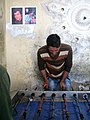 Table Football Club - west suburb of Nishapur near Shatita Mosque 09.JPG