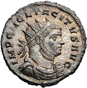 Tacitus (emperor) - Antoninianus of Tacitus