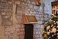 Taddington Church medieval book stand.jpg