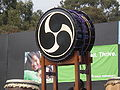 Taiko drum at 2008 SFIDBF.JPG