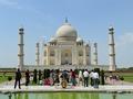 Taj Mahal with Visitors - Agra 2014-05-14 3776-3778.TIF