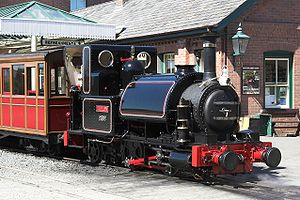 Talyllyn No1 at Tywyn June 2009.jpg