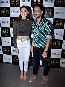 Tanishk Bagchi graces Dhvani Bhanushali's success bash of Vaaste.jpg