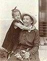 Tatiana Afanassjewa met haar dochter Galinka.jpg