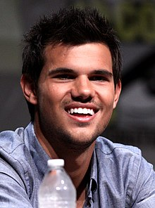 Taylor Lautner - the hot, beautiful, sexy,  actor  with German, French, English, Dutch, Swiss,  roots in 2017