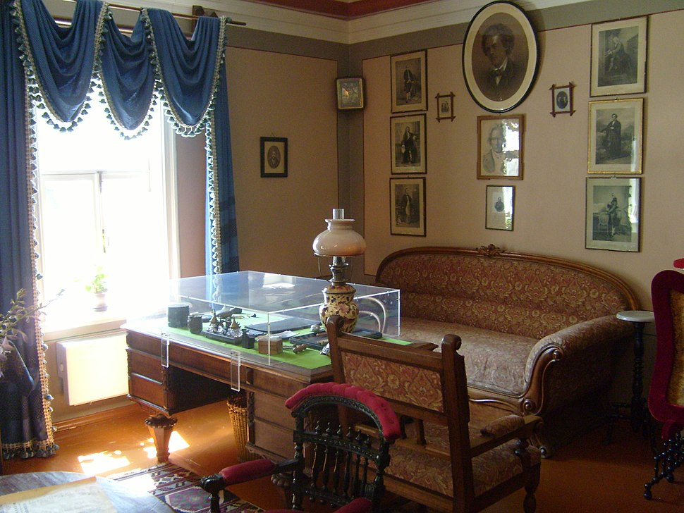 Tchaikovsky's writing table