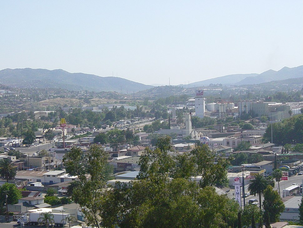 Tecate, aerial view (2005)