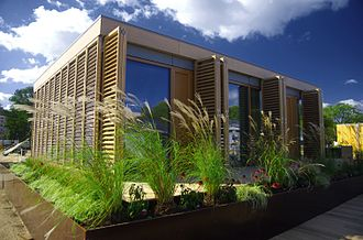 Passive solar building design - Darmstadt University of Technology in Germany won the 2007 Solar Decathlon in Washington, D.C. with this passive house designed specifically for the humid and hot subtropical climate