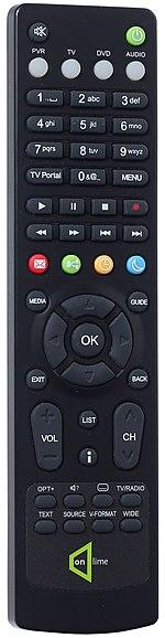 Television remote control - black 01.jpg