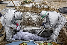 Burial in Hamadan, Iran