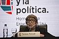 Teresa Parodi en la apertura de El pueblo y la política homenaje a Ernesto Laclau (21815587078).jpg