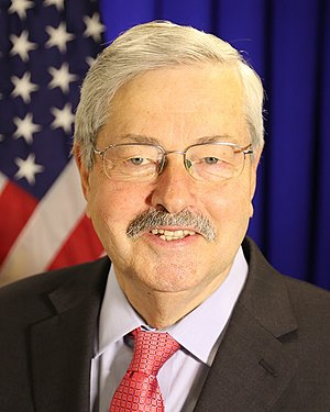 United States Ambassador to China - Image: Terry Branstad official photo