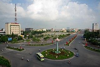 Hưng Yên City in Vietnam