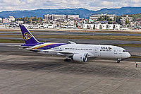 Thai Airways International Boeing 787-8 HS-TQB at Fukuoka Airport.jpg