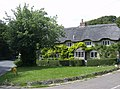 Thatched cottages at Shorwell village green - geograph.org.uk - 502143.jpg