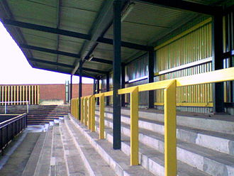 Gloucester City A.F.C. - The T-End at Meadow Park