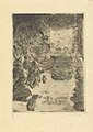 The Adoration of the Shepherds, print by James Ensor, 1888, Prints Department, Royal Library of Belgium, S. IV 597.jpg