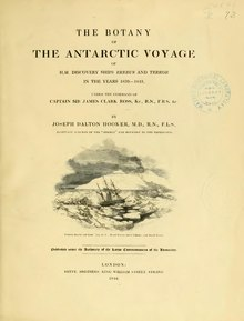 The Botany of the Antarctic Voyage.djvu