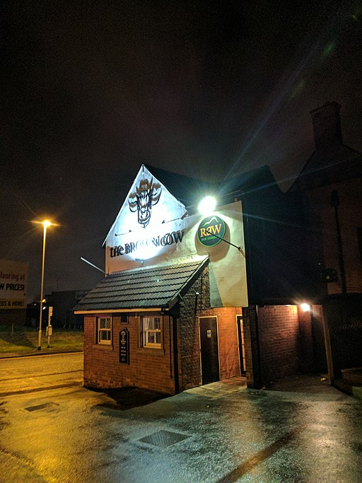 Creative Commons image of The Brown Cow in Mansfield