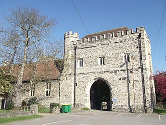 College of All Saints, Maidstone - The College Gateway