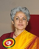 The Director General, ICMR and Secretary, DHR, Dr. Soumya Swaminathan, in New Delhi on January 19, 2016.jpg