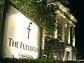 The Fullerton Hotel Singapore sign at night - 20051028.jpg