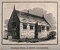 The Grammar school, Boston, Lincolnshire. Line engraving. Wellcome V0012249.jpg