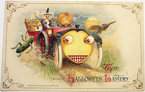 The Halloween Lantern car 1914