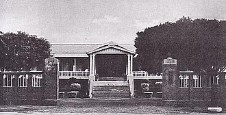 South Pacific Mandate - Headquarters of the government of the South Pacific Mandate in Saipan