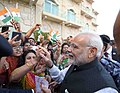 The Indian community enthusiastically welcomes the Prime Minister, Shri Narendra Modi to Muscat, Oman on February 11, 2018 (1).jpg