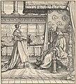 The King of Feuereisen and His Only Daughter, from Der Weisskunig MET DP834067.jpg