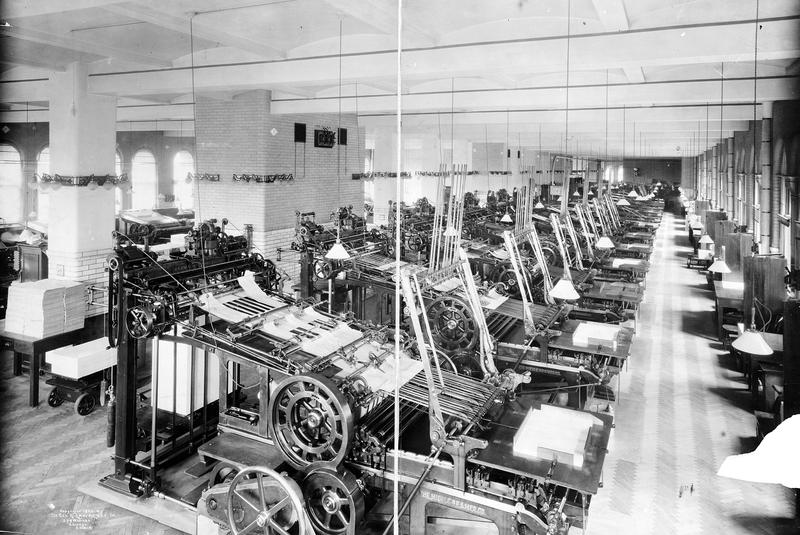 Verbreitungsmaschine, 1905