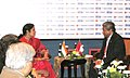 The Minister of State for Human Resource Development, Dr. (Smt.) D. Purandeswari with the Indonesian Minister for Education and Culture, Prof. Muhammad Nuh, in Yogyakarta, Indonesia on July 04, 2012.jpg