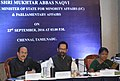 The Minister of State for Minority Affairs (Independent Charge) and Parliamentary Affairs, Shri Mukhtar Abbas Naqvi interacting with the Ministers and Secretaries of Minorities Welfare of Southern States, in Chennai.jpg