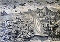 The Phillip Medhurst Picture Torah 4. The creation of birds and fishes. Genesis cap 1 v 20. De Vos.jpg