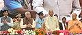 The President, Shri Ram Nath Kovind at the function, organised by the State Government and NHAI, at Deendayal Upadhyay Hastkala Sankul, at Varanasi, in Uttar Pradesh.jpg
