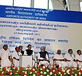 The Prime Minister, Dr. Manmohan Singh at the inauguration of the New International Terminal Building, at Trivandrum Airport, in Kerala on February 12, 2011.jpg