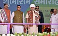 The Prime Minister, Shri Narendra Modi at the inauguration ceremony of Amul Cheese Plant and Whey Drying Pant, in Palanpur, Banaskantha, Gujarat.jpg